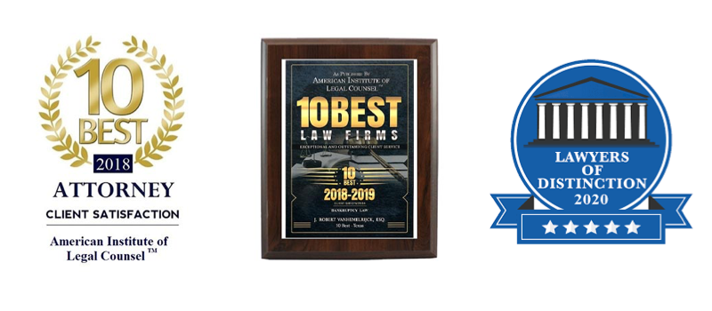Named a 10 Best Law Firm by the American Institute of Legal Counsel™